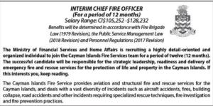 HIRING: FIRE CHIEF