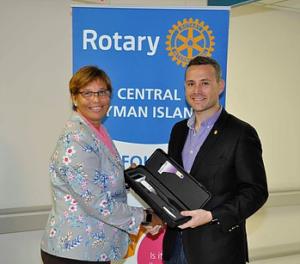 Rotary Central donates life-saving equipment to HSA